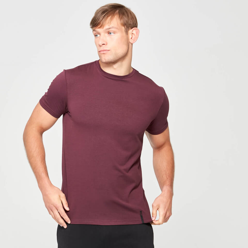 Myprotein Luxe Touch Crew Short Sleeve T-Shirt - Grey Marl - XS