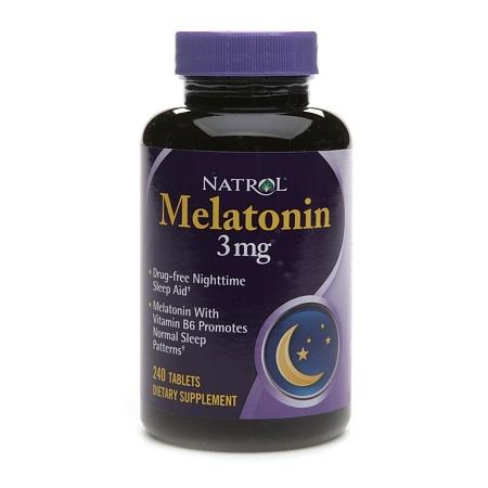 Natrol Melatonin 3 mg - 240 ea