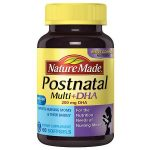Nature Made Postnatal Multi+DHA 200 mg DHA, Softgels - 60 ea