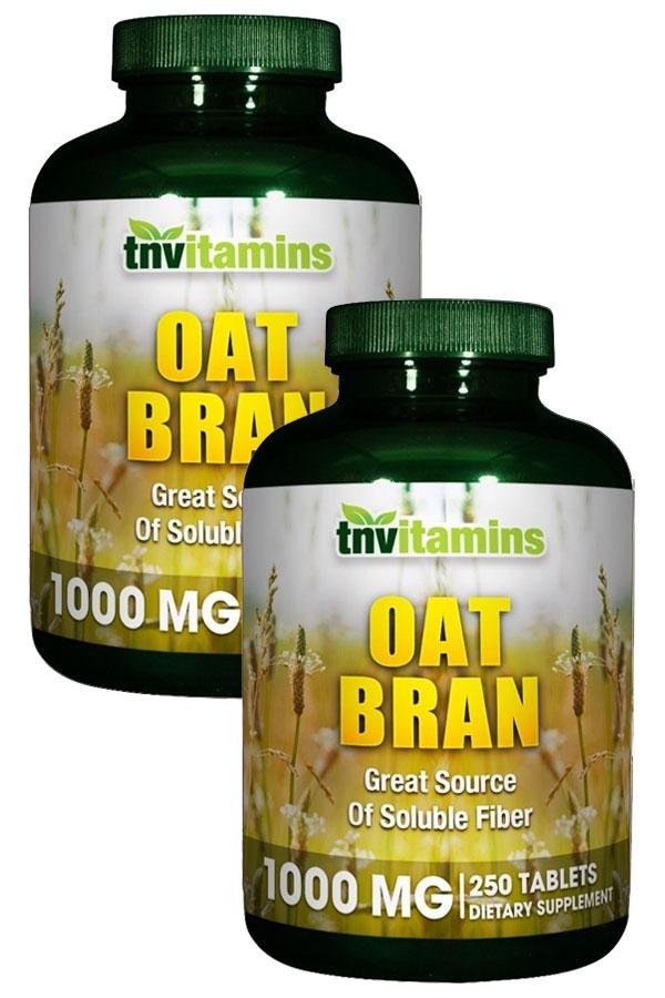 Oat Bran 1000 Mg Tablets