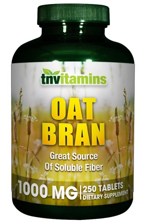 Oat Bran 1000 Mg Tablets