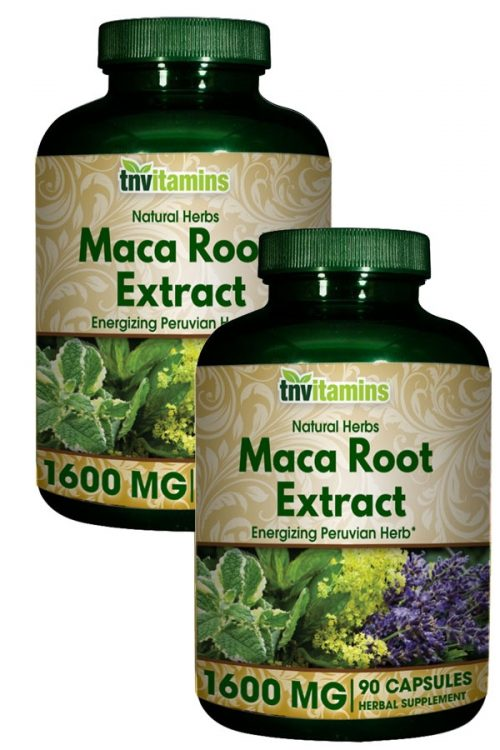 Peruvian Maca Root Extract 1600 Mg