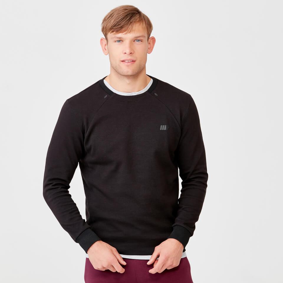 Pro Tech Crew Neck Sweatshirt 2.0 - Black - XS