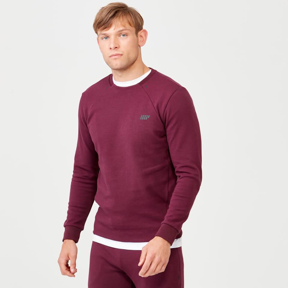 Pro Tech Crew Neck Sweatshirt 2.0 - Burgundy - XS