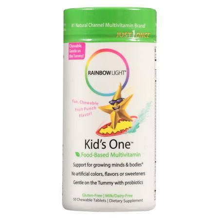 Rainbow Light Kid's One Multivitamin Tablets - 50 ea