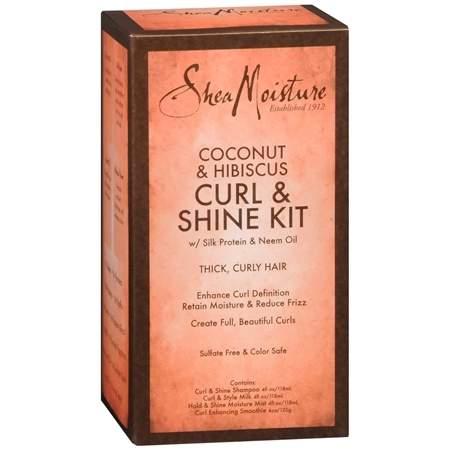 SheaMoisture Coconut & Hibiscus Curl & Shine Kit - 1 ea