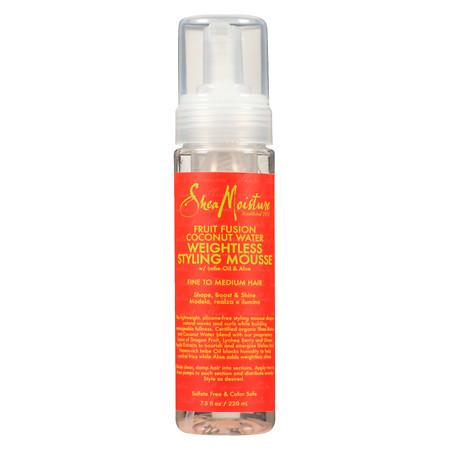 SheaMoisture Fruit Fusion Styling Mousse - 7.5 oz.