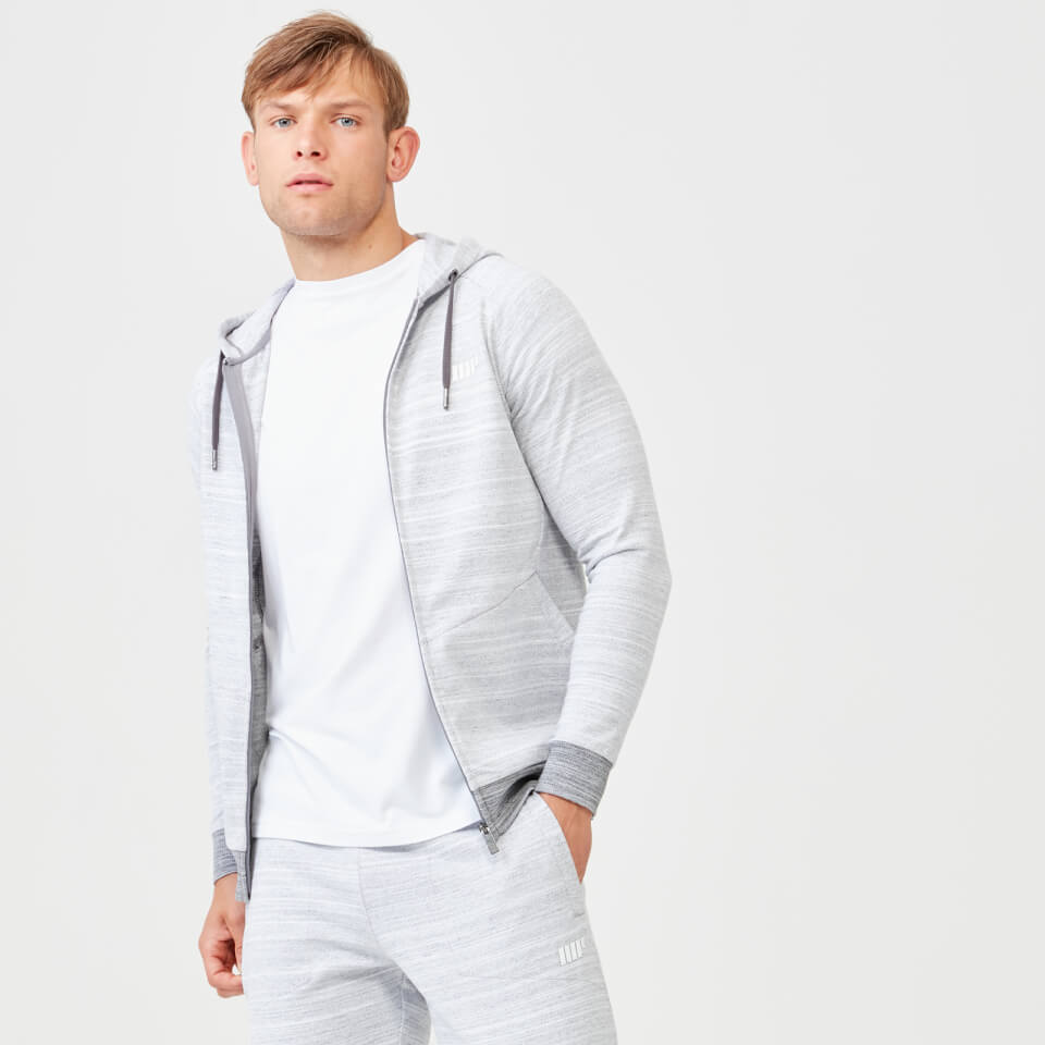 Swift Zip Up Hoodie - Grey Marl - XL