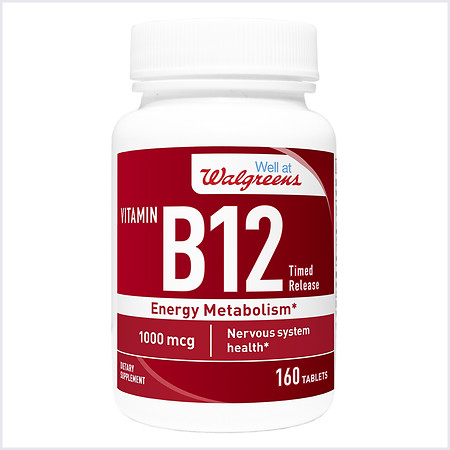 Walgreens Vitamin B12 Time Released Tablets - 160 ea