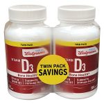 Well at Walgreens Vitamin D3 2000 IU Softgels - 300 ea