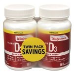 Well at Walgreens Vitamin D3 5000 IU Softgels - 100 ea