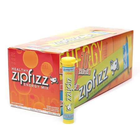Zipfizz Healthy Energy Mix, Tubes Citrus - 0.4 oz.