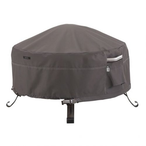 12CS Fire Pit Cover Herb Red