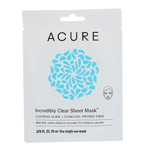 Acure 2184166 1 EA Radically Rejuvenating Sheet Clear Mask