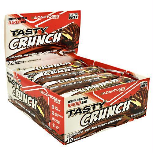 Adaptogen Science 8360058 612 g Tasty Crunch Bar Chocolate Chip Cookie Dough - 12 Per Bars