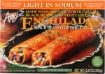 Amys KHFM00033522 Light in Sodium Black Bean Vegetable Enchilada - 9.5 oz
