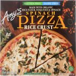 Amys KHFM00033902 Gluten Free Rice Crust Spinach Pizza - 14 oz
