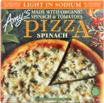 Amys KHFM00035535 Light in Sodium Single Serve Spinach Pizza - 7.2 oz