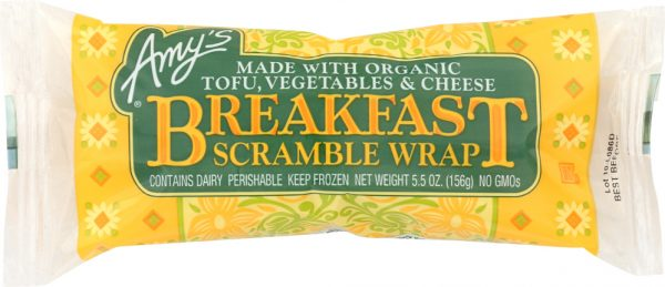 Amys KHFM00036715 Breakfast Scramble Wrap - 5.5 oz