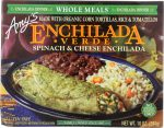 Amys KHFM00036814 Enchilada Verde Whole Meal Spinach & Cheese - 10 oz