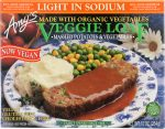 Amys KHFM00565242 Veggie Loaf Mashed Potatoes & Vegetables - 10 oz