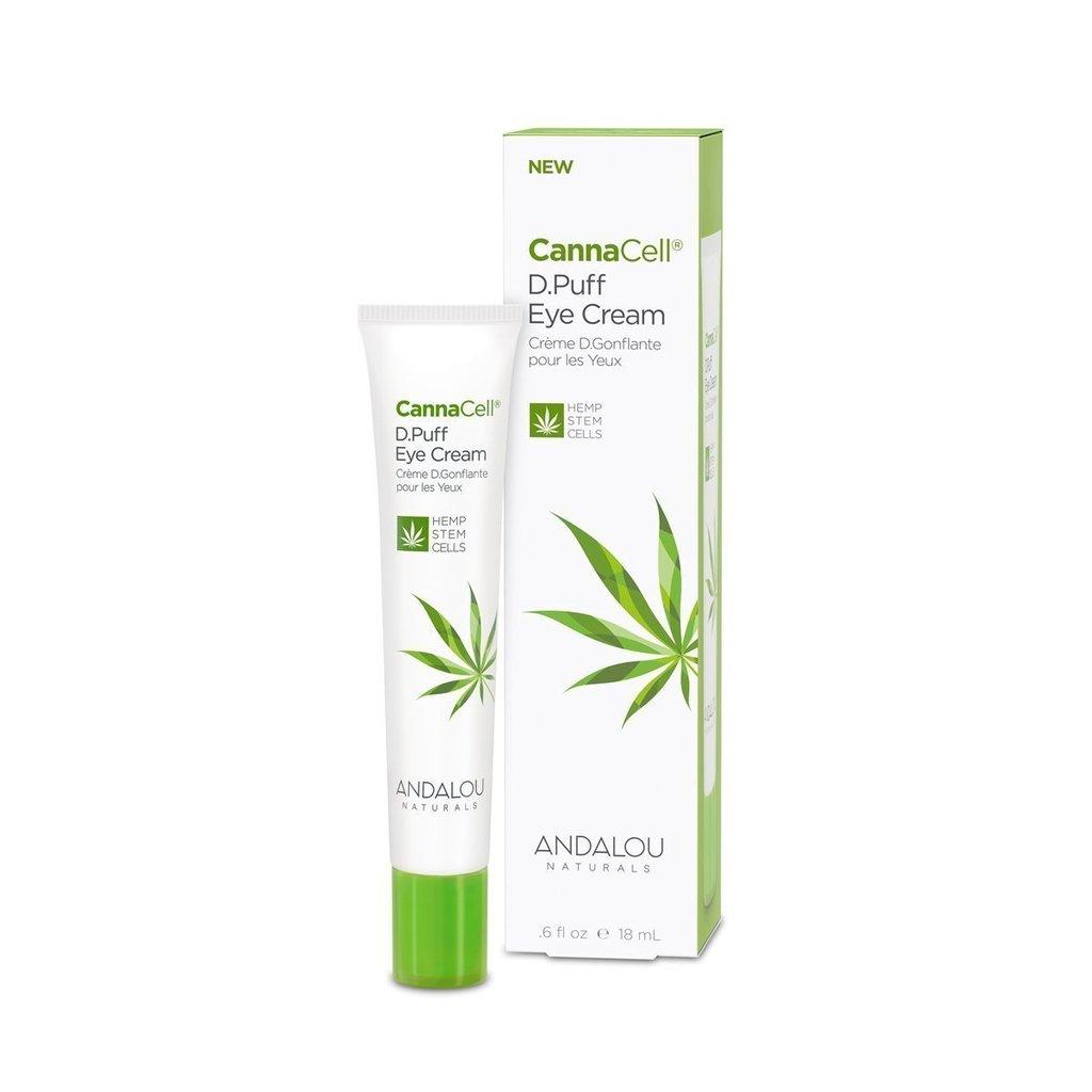 Andalou Naturals 509718 0.60oz Cannacell D-Puff Eye Cream