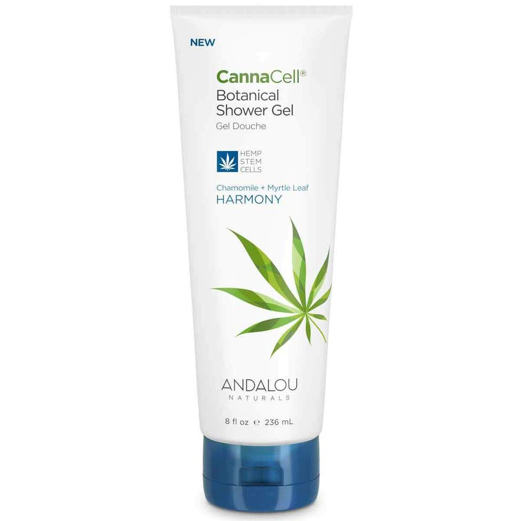 Andalou Naturals 509725 8oz Cannacell Harmony Shower Gel