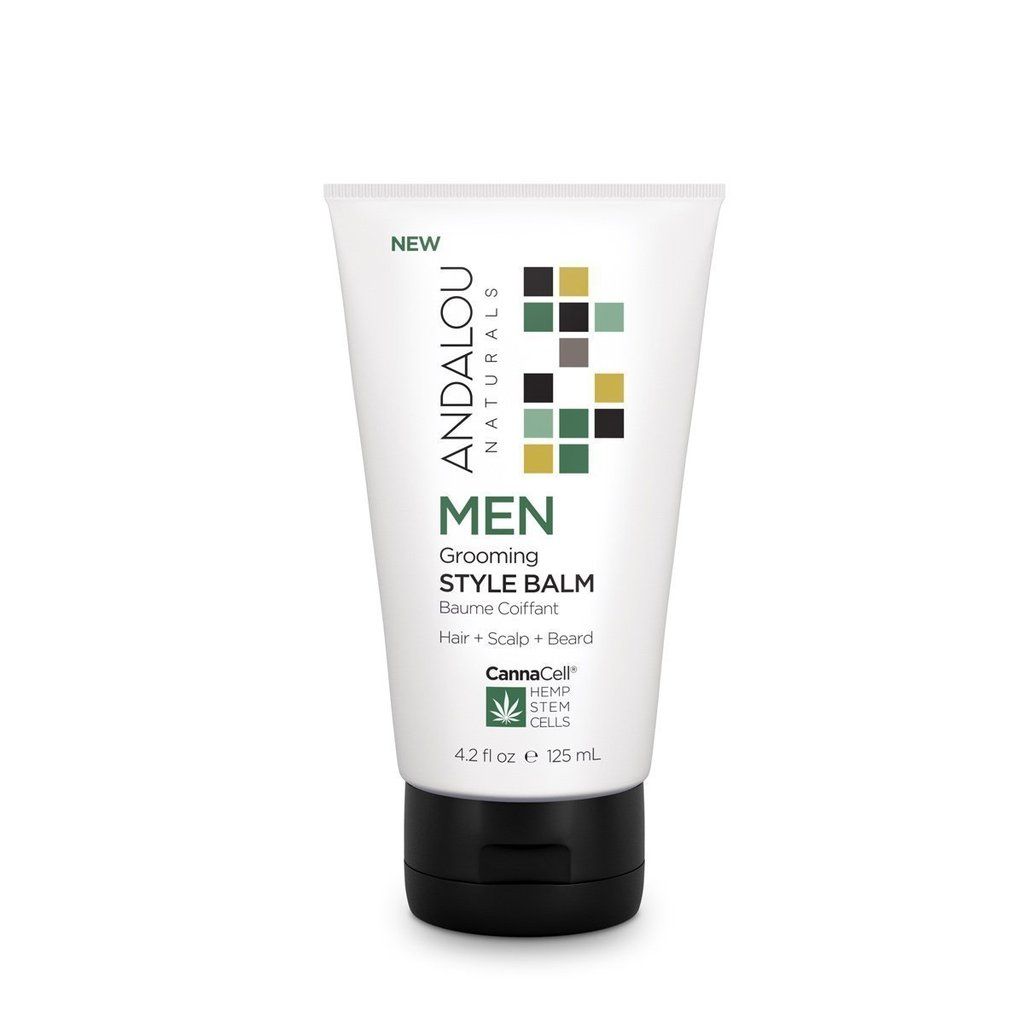 Andalou Naturals 509745 4.2oz Grooming Style Balm for Men