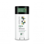 Andalou Naturals 509746 3.25oz Herbal Deodorant for Men