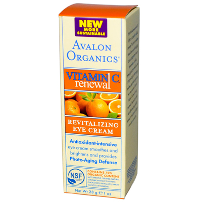 Avalon Active Organics 0901520 Revitalizing Eye Cream Vitamin C - 1 fl oz