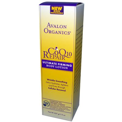 Avalon Active Organics 0954883 Ultimate Firming Body Lotion Coenzyme Q10 - 8 fl oz