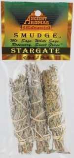 AzureGreen RS3ST 4 in. Stargate Smudge Stick - 3 Packs