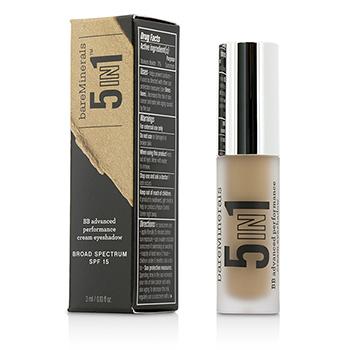BareMinerals 207008 5 in 1 BB Advanced Performance Cream Eyeshadow Primer SPF 15 - Rich Camel