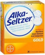 Bayer 0408832 Alka-Seltzer Effervescent Gold - 36 Tablets