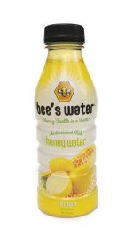 Bees Water 315120 Lemon Honey Water 16 fl. oz - Pack of 12