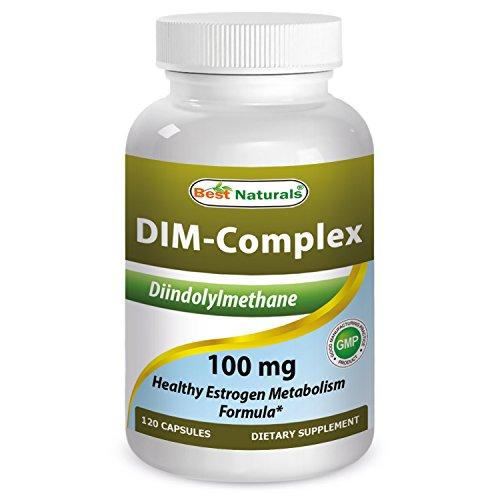 Best Naturals 614295 100 mg DIM Complex 120 Capsule