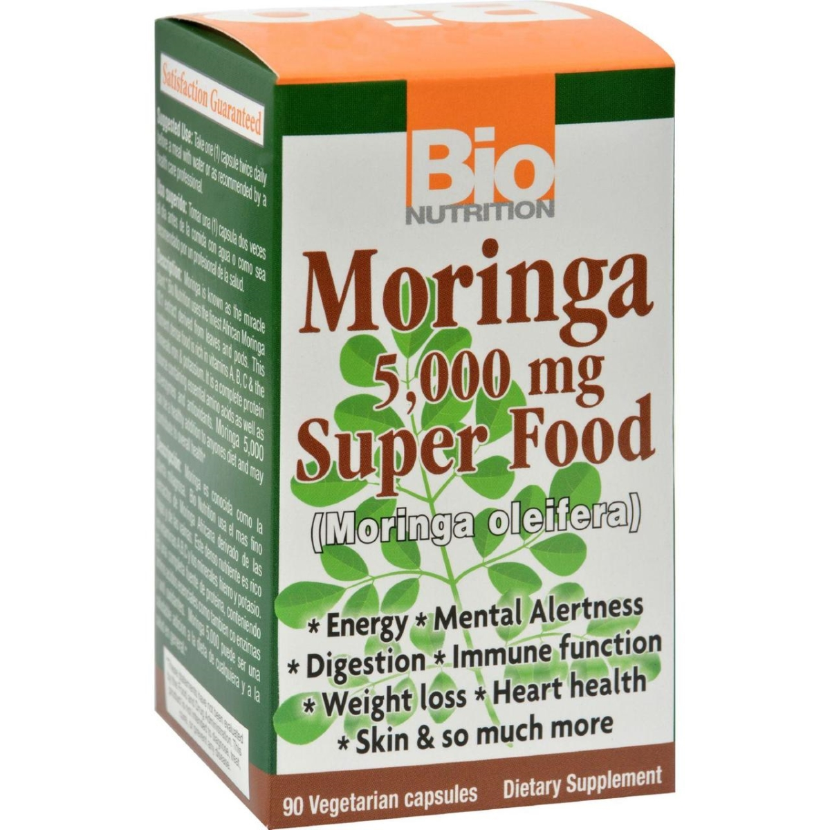 Bio Nutrition HG1237353 5000 mg Moringa - 90 Count