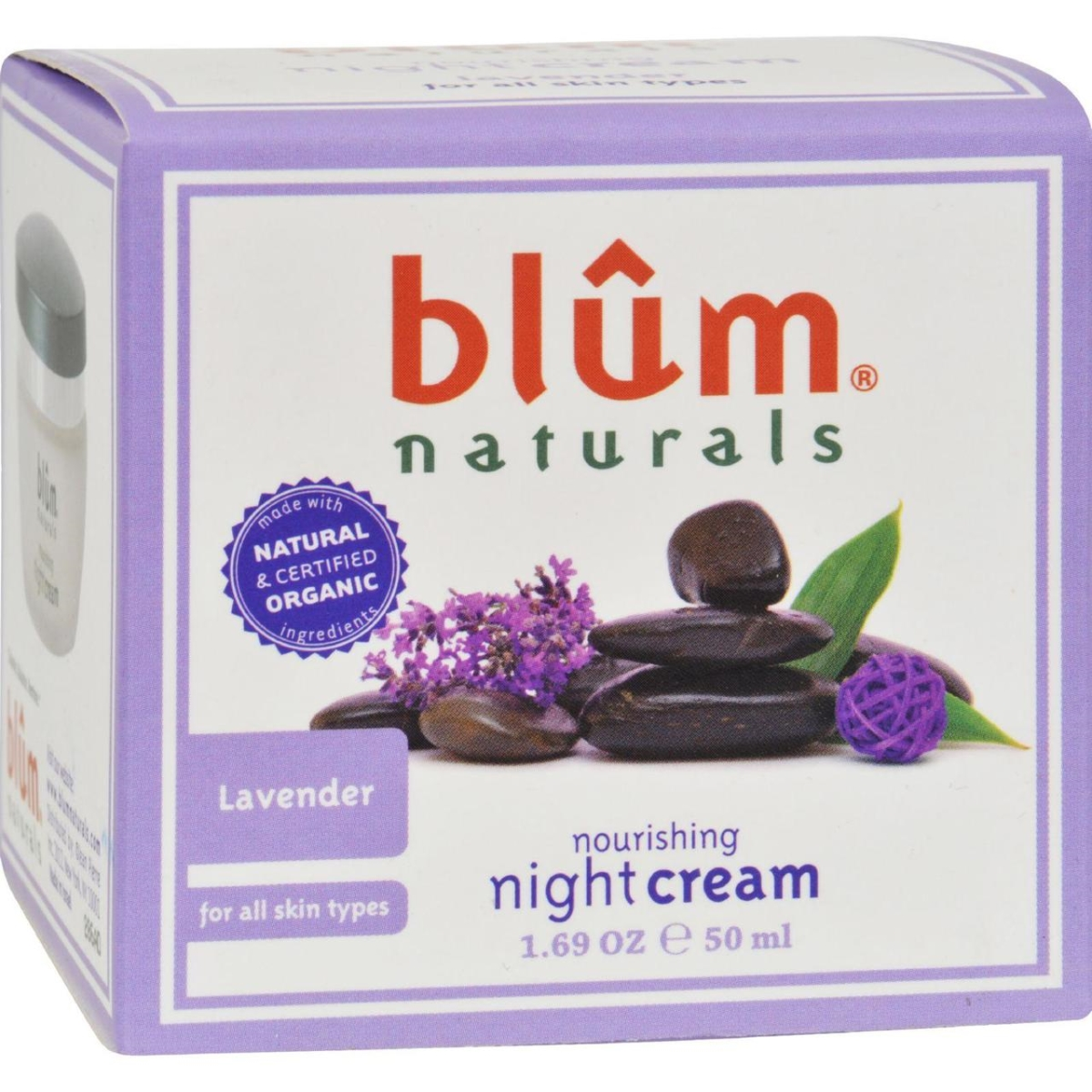 Blum Naturals HG1216563 1.69 oz Nourishing Night Cream - Lavender