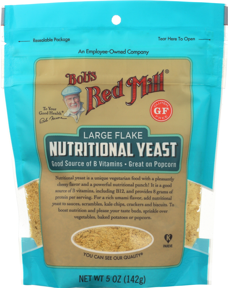 Bobs Red Mill KHFM00316991 Large Flakes Nutritional Yeast - 5 oz