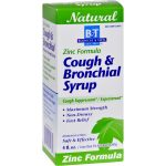 Boericke & Tafel HG0648964 4 oz Cough & Bronchitis Syrup with Zinc