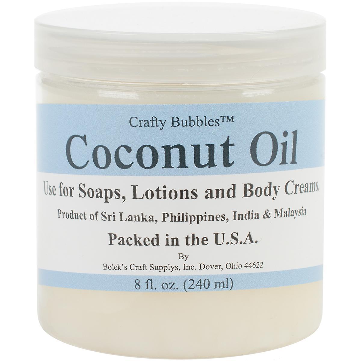 Boleks CB66 8 oz Coconut Oil
