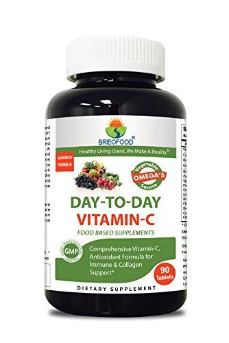 Briofood 614611 Day-To-Day Vitamin C - 90 Tablets