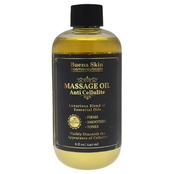 Buena Skin U-SC-5394 8 oz Anti Cellulite Massage Oil for Unisex