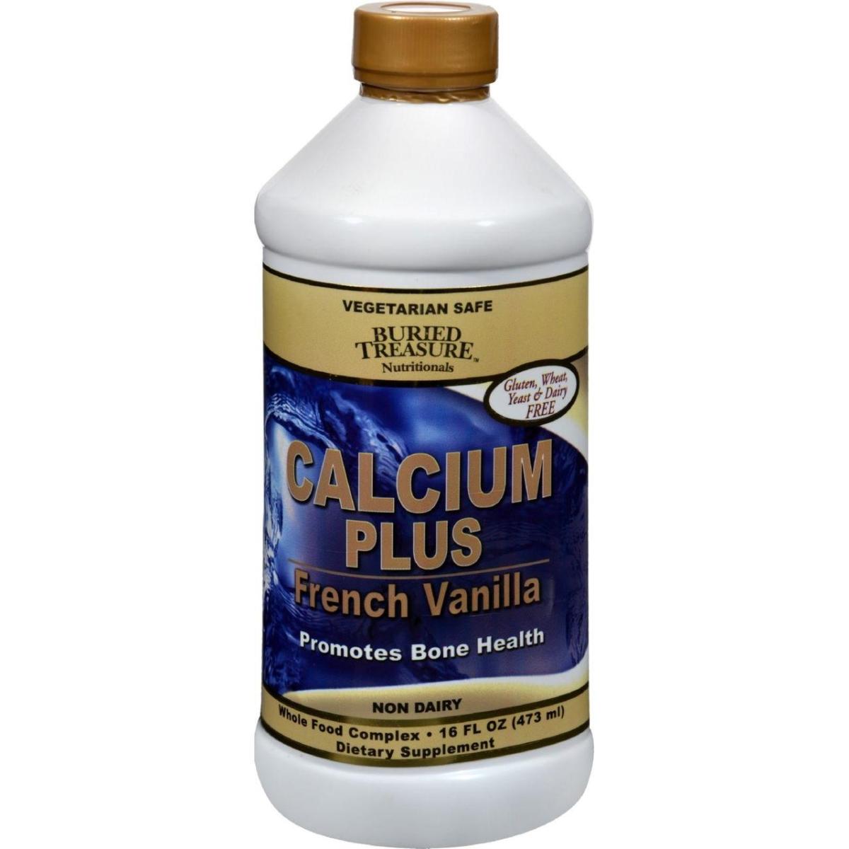 Buried Treasure HG0213587 16 fl oz Calcium Plus French Vanilla