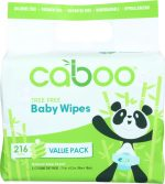 Caboo KHFM00284892 Wipe Baby Bundle - Pack of 216