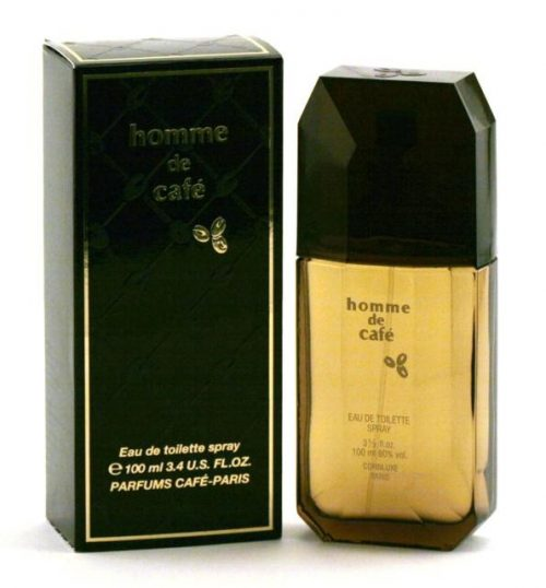 Cafe Homme De Cafe - Edt Spray(Black Box) 3.4 Oz