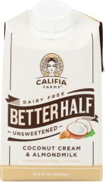 Califia KHFM00284569 Better Half Unsweetened Creamer - 16 oz