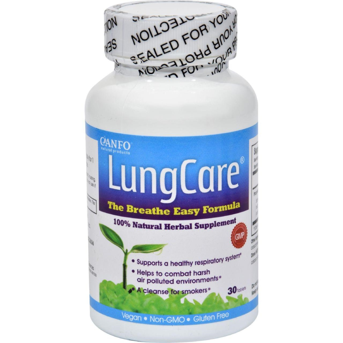 Canfo Natural Products HG1022771 Lungcare - 30 Tablets