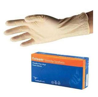 Cardinal Health - Med 558886DOTP Instagard Vinyl Exam Gloves - Small