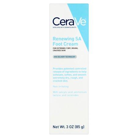 Cerave 1683764 8 oz Renewing Foot Cream